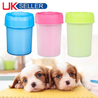 NEW Portable Pet Paw Mudbuster Mud Cleaner Washer Dog Cat Pet Paw Plunger Cup UK