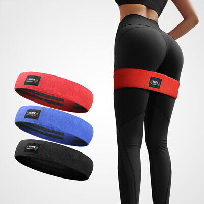 Resistance Loop Bands Yoga Crossfit Fitness Pilates Exercise Gym Workout Faddish