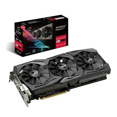 Asus Radeon Rx 590 8GB Strix Edition Carte Graphique