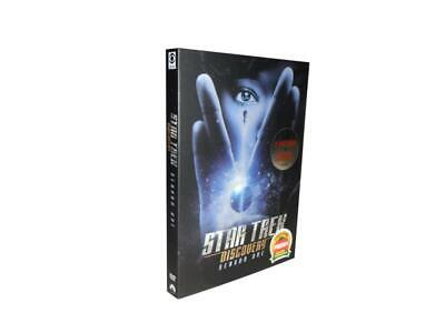 Star Trek Discovery: The First Season 1  (DVD, 2018, 4-Disc Set) US Seller
