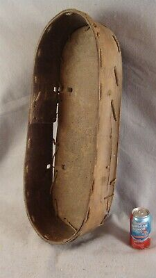 Antique 19C Native American Carved Wooden Papoose Baby Carrying Pack