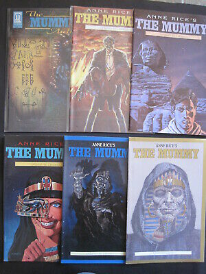 Anne Rice's The MUMMY,1990 MILLENNIUM SERIES. 6 ISSUES: 1,2,7,9,12 + Archives