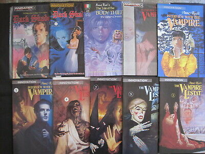 Anne Rice's INNOVATION VAMPIRE SERIES : LESTAT, INTERVIEW et.13 DIFFERENT ISSUES
