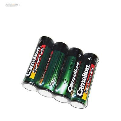 4 Set Batteries Mignon Camelion Heavyduty Type Aa 1,5v V