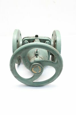 Grinnell 303-1066 Manual Steel Flanged 2-1/2in Diaphragm Valve