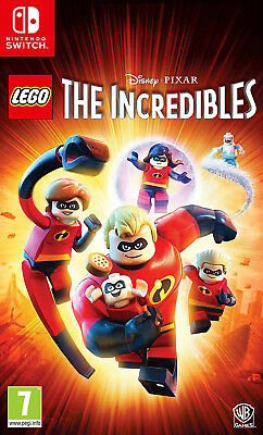 LEGO The Incredibles (Switch)  BRAND NEW AND SEALED - IN STOCK - QUICK DISPATCH