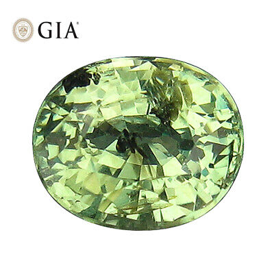 """1.38Ct """"GIA"""" CERTIFIED ! UNDER UV LIGHT COLOR CHANGE UNHEATED ALEXANDRITE"""