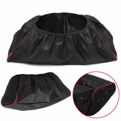 Car 600D Waterproof Winch Cover For Driver Recovery Capacity Parts Black&Red