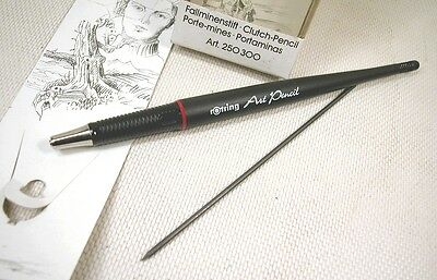 ROTRING ART PENCIL & 2 mm LEAD SHARPENER..NEW OLD STOCK..VINTAGE RARE..GERMANY