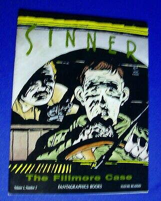 Sinner vol 1 no3 The Filimore Case. Munoz & Sampoyo. Fantagrahics 1988. VFN.