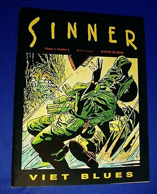 Sinner vol 1 no4 Viet Blues. Munoz & Sampoyo. Fantagrahics 1989. VFN.