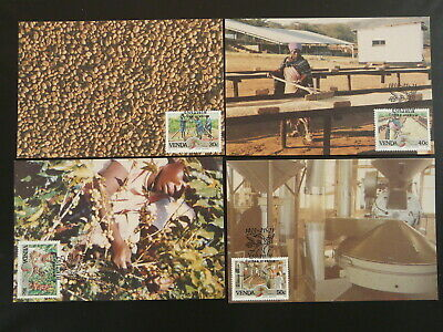 coffee industry food set of 4 maximum card Venda 86201
