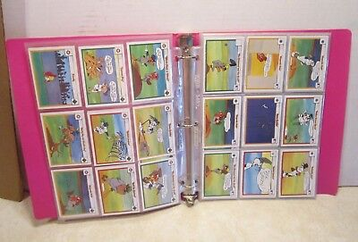 Lot of 93 Upper Deck 1990 Warner Brothers Looney Tunes Collector Cards  R205