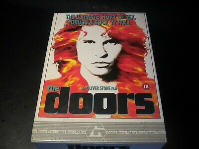 The Doors - An Oliver Stone Film - VHS Video Tape Cassette - Big Box
