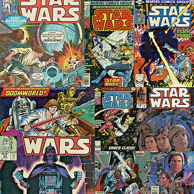 1977 Star Wars Marvel Comic Book Series- Your Choice of 100+ Issues