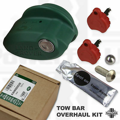 Tow hook hitch overhaul kit Discovery 3/4 bar ball towing lock key Large type