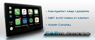 NEW BMW FIRMWARE version P - APPLE CARPLAY and FULL SCREEN CARPLAY CABLE CODING