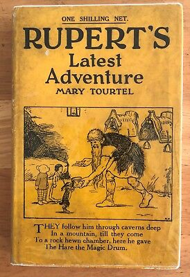 Mary Tourtel Rupert LATEST ADVENTURE Little Bear Library No 25 1932 FIRST IN D/W