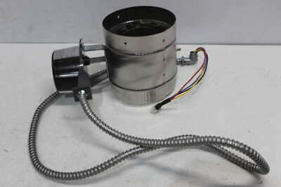 Field Controls Auto Vent Damper For 24V Gas Systems w/ Harness GVD-6USB