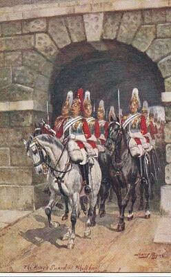 Eleven Old Tuck Postcards - Series 6412 - Military in London - Harry Payne