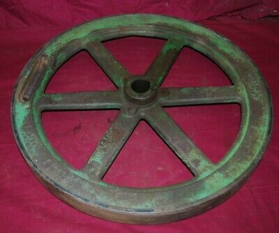 3 HP John Deere Model E Crank Side Flywheel Gas Engine Motor