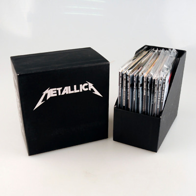 """Metallica """"The Album Collection"""" 13 CD Japanese Limited Edition Box Set.Sealed."""