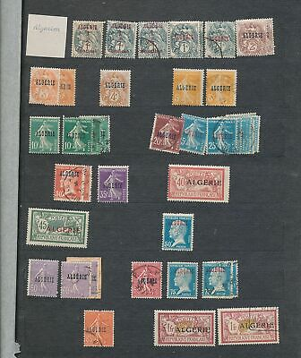 ALGERIA Early/Mid M&U Collection(Appx 200+Items) (KR 864