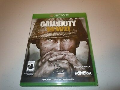 Call of Duty: WWII (Microsoft Xbox One, 2017) MINT / COMPLETE
