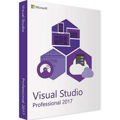 🔥Visual Studio 2017 Professional Lifetime License - Download INSTANT DELIVERY🔥