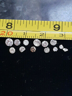 Genuine Natural Chipped Diamonds Removed From Jewellery