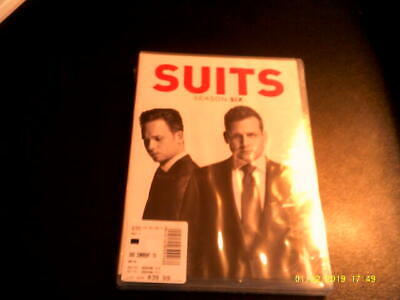 Suits: Season Six (DVD, 2017, 4-Disc) Brand New Factory Sealed! USA Network