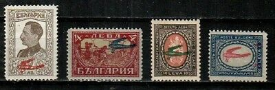 Bulgaria Scott C1-4 Mint NH