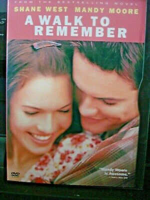 A Walk to Remember (DVD, 2002) Mandy Moore WORLD SHIP AVAIL