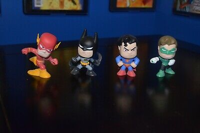 DC Comics FUNKO MYSTERY MINIS FIGURE SET SUPERMAN BATMAN FLASH GREEN LANTERN