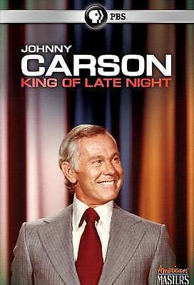 Johnny Carson: King of Late Night (DVD, 2012) Brand New Factory Sealed