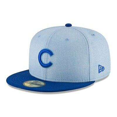 super popular 33e36 42322 New Era Chicago Cubs Light Blue 2018 Father s Day On Field 59FIFTY Fitted  Hat