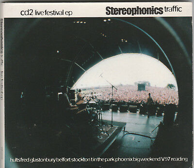 Stereophonics ‎~ Traffic ~ MINT Digipak CD Live Festival EP RARE Promo UK Import