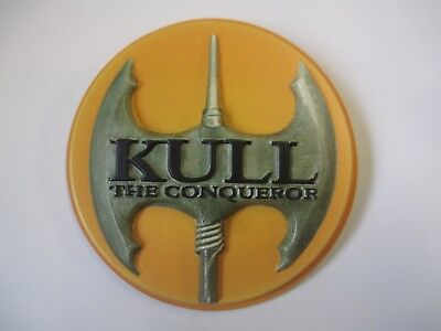 "1997 Kull The Conqueror  Promo 3"" Pin Button Kevin Sorbo"