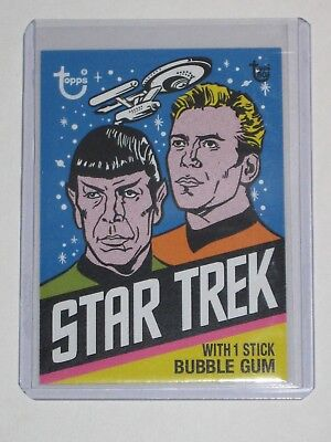 Topps 80th Anniversary No.25 1976 Star Trek Wrapper Card Sold Out Online Run 354
