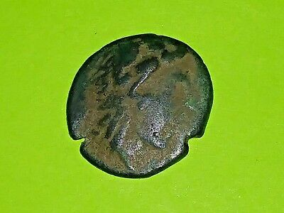 Alexander II 128BC ancient CELTIC GREEK COIN Heracles lion skin Nike Very Good