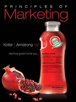 Principles of Marketing by Kotler, Philip; Armstrong, Gary
