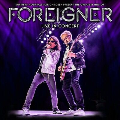 Foreigner - Greatest Hits Of Foreigner Live In Concert [New CD]