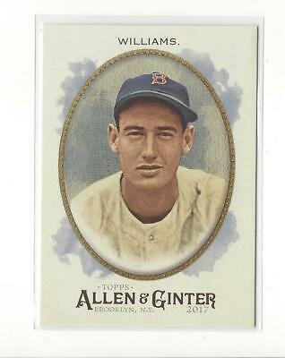 2017 Topps Allen and Ginter Hot Box Foil #110 Ted Williams Red Sox