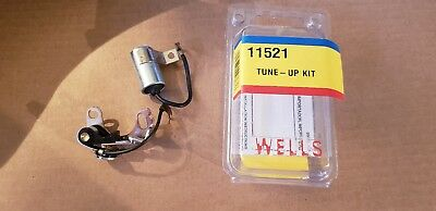 Ignition Breaker Contact Points and Condenser Kit Wells 11521