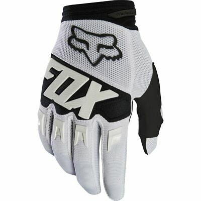 Fox Racing Dirtpaw Gloves White 2XL Extra Large XXL Motorcycle Off Road MX ATV