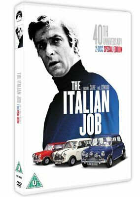The Italian Job - 40th Anniversary Edition [DVD] [1969], DVD, New, FREE & Fast D