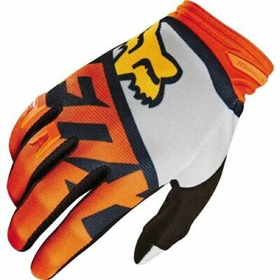 Fox Racing Dirtpaw Gloves Orange 2 Extra Xtra Large XXL Motorcycle Off Road MX