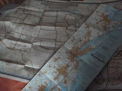 2 Old American Maps