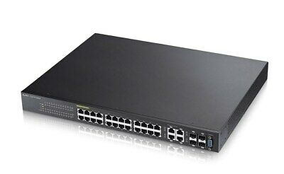 Zyxel GS2210-24HP 28-Port Gigabit Poe Interruttore per Desktop