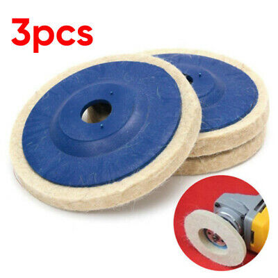 Polishing Wheel Buffing Pad Brush Tools New For Rotary Polish 100 Angle Grinder